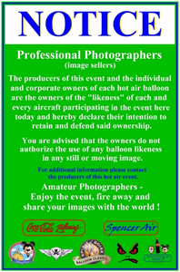 LTAA Photographers' Notice